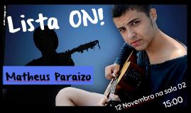 Matheus Paraizo
