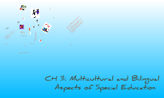 CH 3: Multicultural and Bilingual Aspects of Special Education