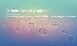 Othello Scene Analysis