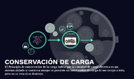 CONSERVACIÓN DE CARGA