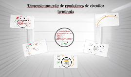 Dimensionamento de condutores de circuitos terminais