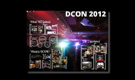 Copy of DCON 2012