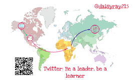 Twitter: Be a leader, be a learner