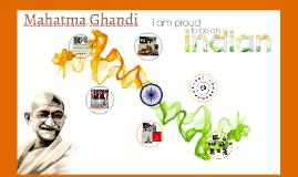 Mahatma Ghandi a dit,