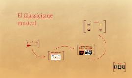 El Classicisme musical