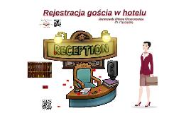 Rejestracja gościa w hotelu