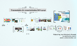 Transmisión conocimientos ISO 14046