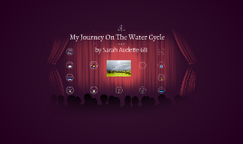 My Journey On The Water Cycle