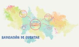 RADICACION DE CUENTAS