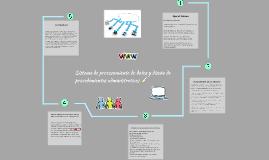 Sistema de procesamiento de datos y diseño de procedimientos