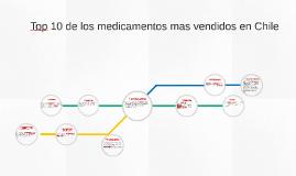 Top 10 de los medicamentos mas vendidos en Chile