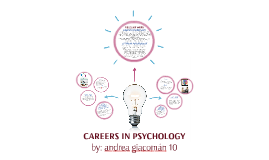 Copy of CAREERS IN PSYCHOLOGY