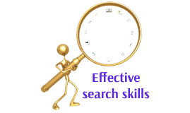 Effective search skills - QMplus Hub