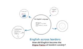English across borders