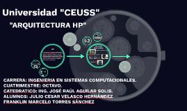 "Universidad ""CEUSS"""
