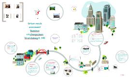 Urban needs assessment