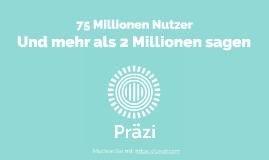 """""""Prezi"""" heißt """"filmreif Präsentieren"""" auf Deutsch"""