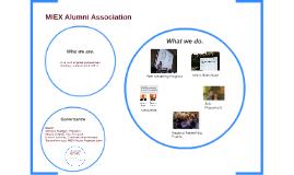 MIEX Alumni Association