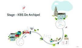 Stage - KBS De Archipel