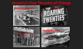 America's 4 decades of change