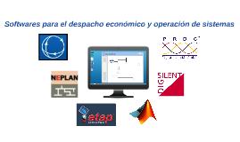 Softwares para el despach económico de carga