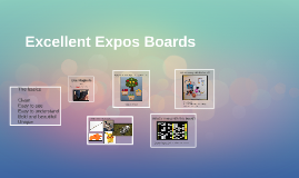 Excellent Expos Boards