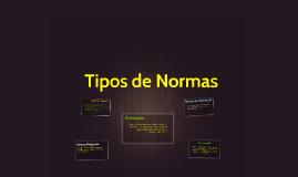 Copy of Tipos de Normas