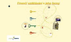 Formy finančního vzdělávání