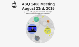 ASQ 1408 Meeting August 2016