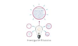 La investigación educativa