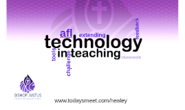 Copy of TECHNOLOGY IN TEACHING