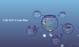 USD #417 Crisis Plan