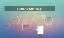 NBR 6027