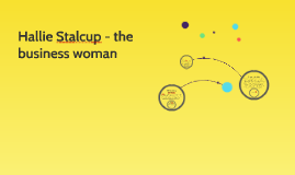Hallie Stalcup - the business woman