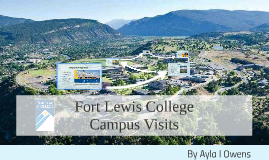 Copy of Fort Lewis College