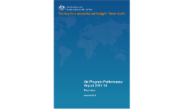 The key to a successful budget for Timor Leste