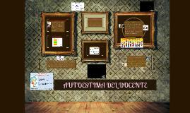 Copy of Autoestima del docente