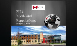 Maryville University and ELL student needs