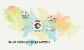 Color Schemes/ Color Families