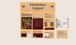 Elizabthan England