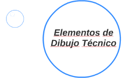 Elementos de Dibujo Técnico