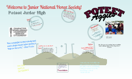 National Junior Honor Society: Poteet Junior High