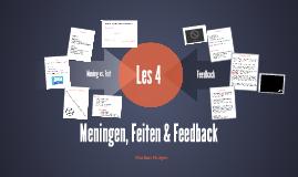 Communicatie FL2 - Meningen, Feiten en Feedback