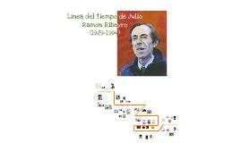 Copy of Línea del Tiempo de Julio Ramón Ribeyro