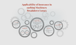 Applicability of Insurance in curbing Machinery Breakdown Lo