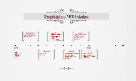 Projektplan MIK i skolan