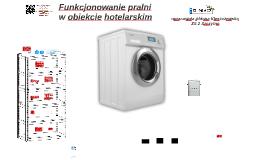 Funkcjonowanie pralni w zakładzie hotelarskim
