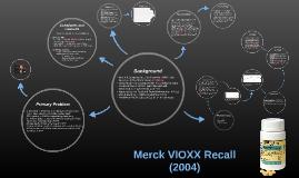 VIOXX Recall