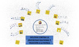DELITOS CONTRA LA SEGURIDAD NACIONAL Y TRAICIÓN A LA PATRIA