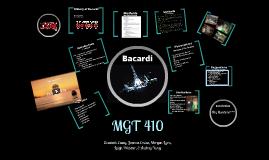 MGT 410-Bacardi